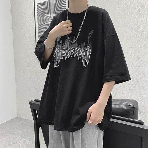 ファイヤーロゴTシャツ BL8654