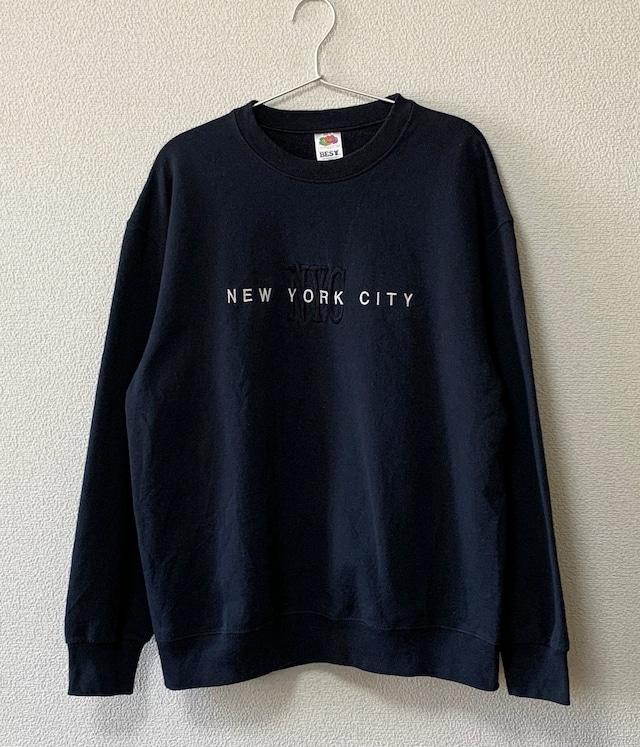 USED NYC SWEAT SHIRT