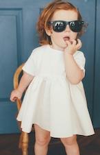 Ballerina T-dress WHITE