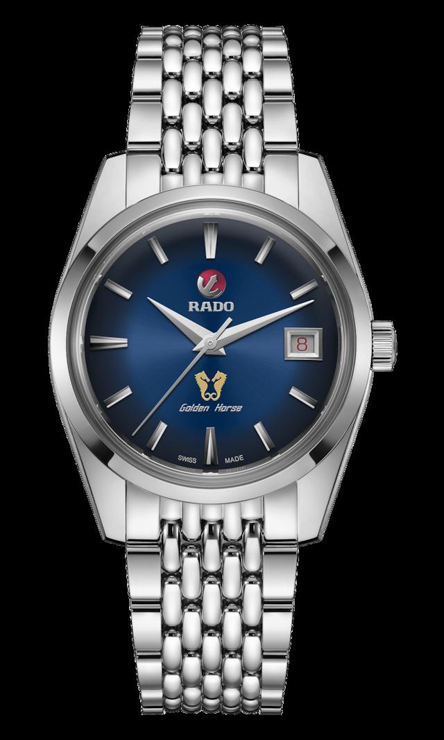 【RADO ラドー】復刻限定品/Golden Horse Automatic ゴールデンホース(ブルー)1957本限定/国内正規品 腕時計