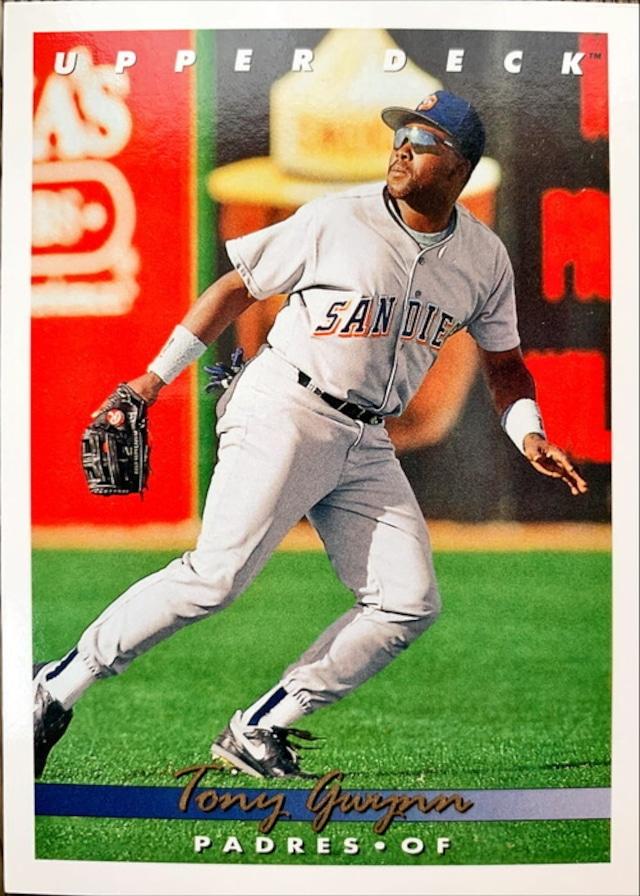MLBカード 93UPPERDECK Tony Gwynn #165 PADRES