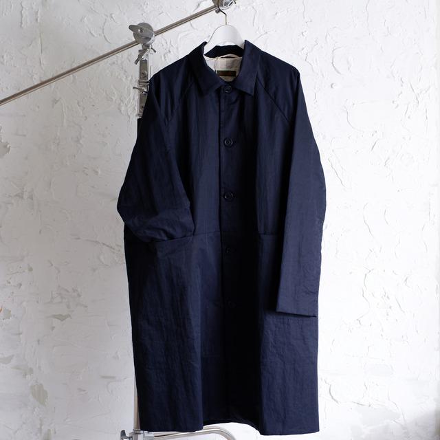 CASEY CASEY - OLI EVASE COAT - NY - 17HM121 - NAVY Coat