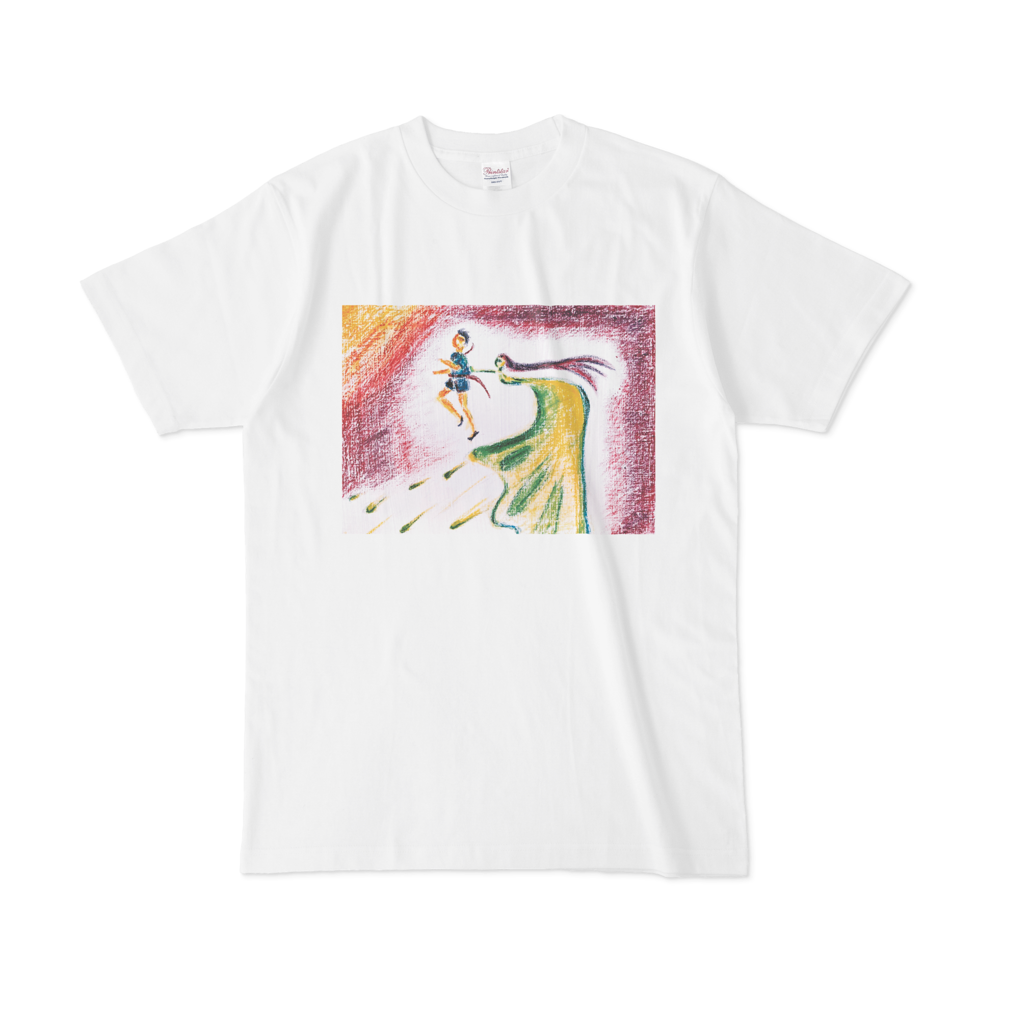 【税込・送料無料】飯田結万(純粋カフェ・ラッテ)デザインTシャツ「追い風」