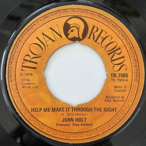 John Holt - Help Me Make It Through The Night【7-20785】