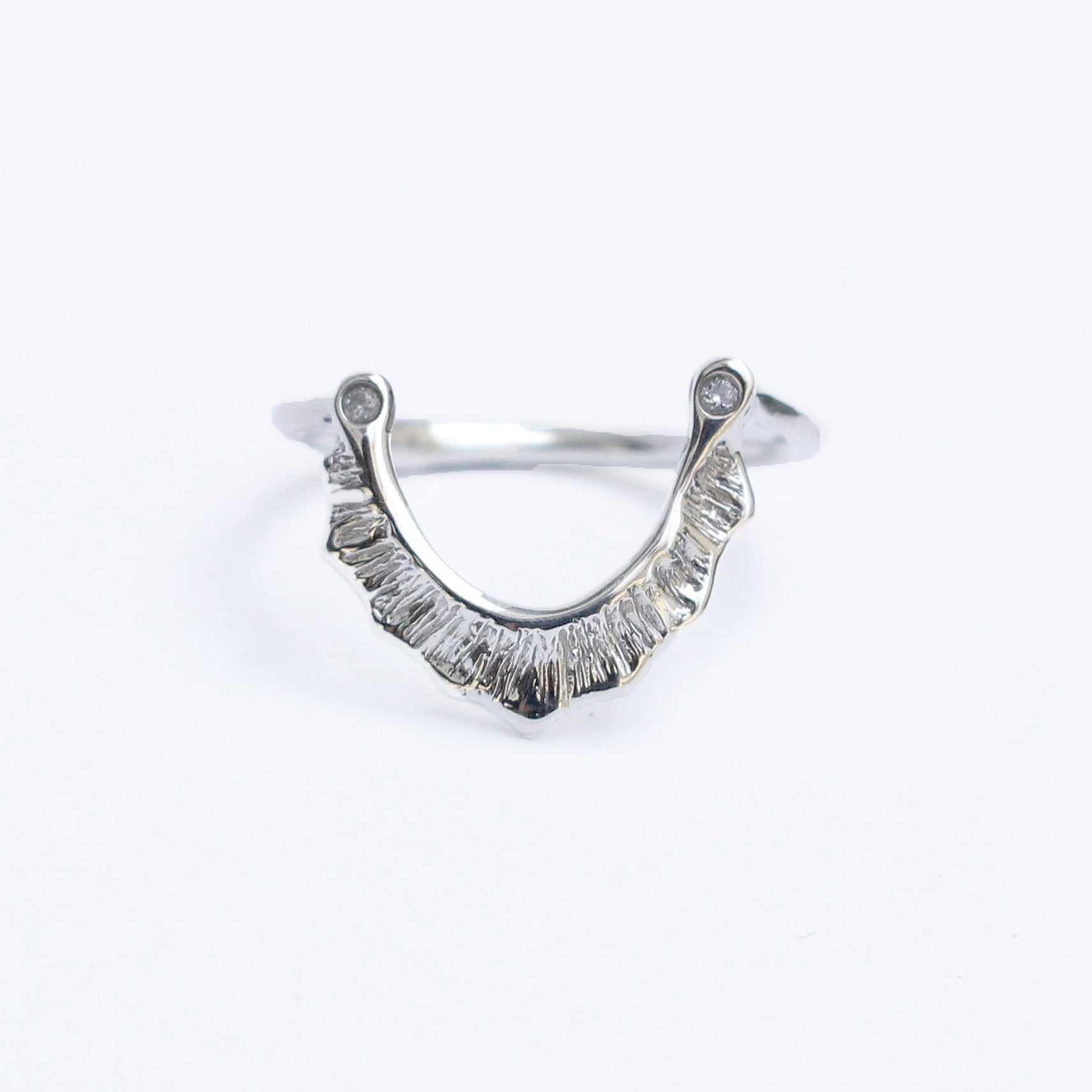 conoa (コノア) あまだれの指飾り silver
