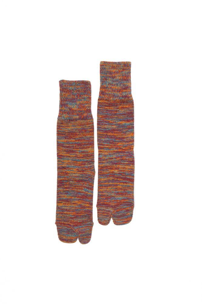 4Color Mix Socks (Orange)