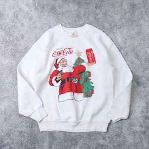 90s  Vintage  Sweatshirts   M    90年代 コカ・コーラ スウェットシャツ ラグランスリーブ メンズM 古着 A564