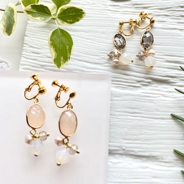 INDU clip earrings