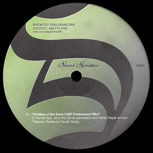 """【ラスト1/12""""】Theo Parrish - Children Of The Drum"""