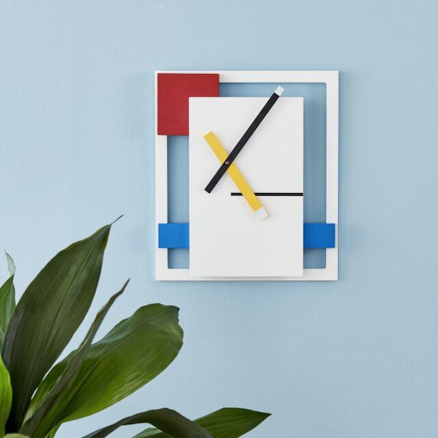 MoMA De Stijl Wall Clock デ・ステイルウォールクロック 壁掛け時計
