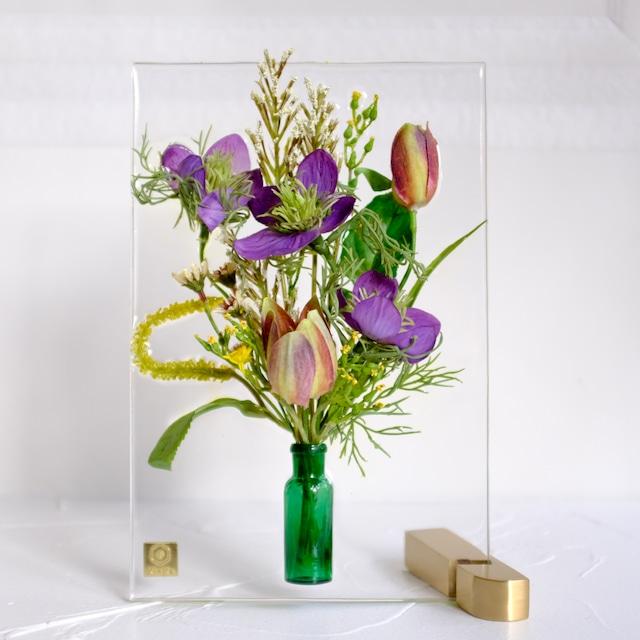 sumika S ニゲラとフリチラリア アンティーク花瓶シリーズ