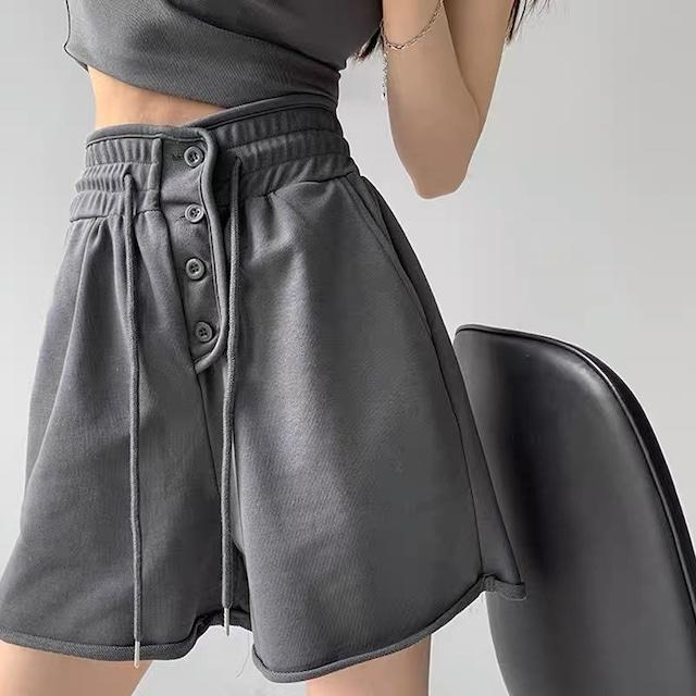 gray half pants