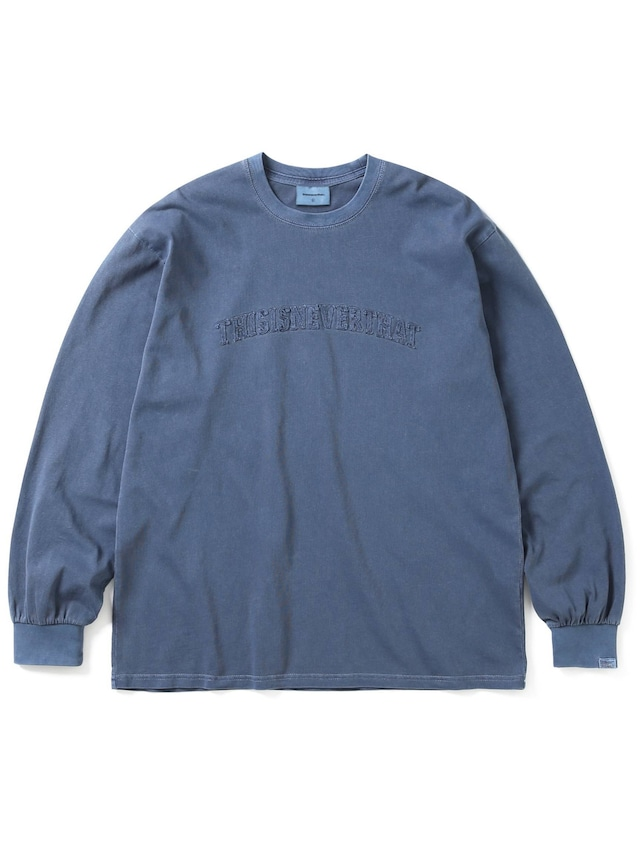 THISISNEVERTHAT ARCH-LOGO L/S TEE NAVY