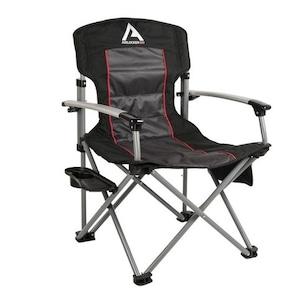 ARBエアロッカーキャンプチェア 折り畳みキャンプチェアテーブル付き 10500111