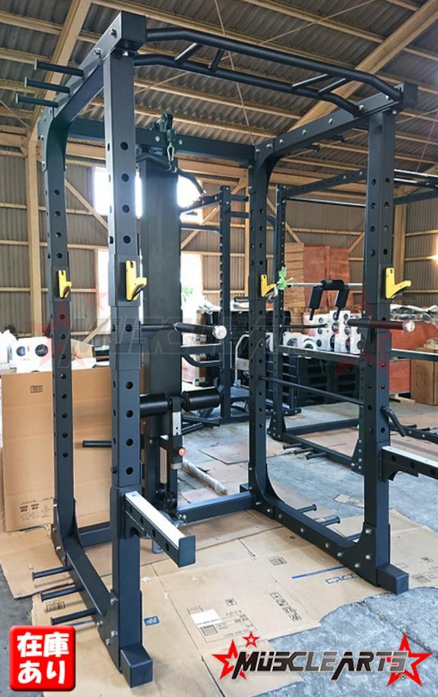 【新型】業務用 マルチパワーラック  MA-RX175 黒 POWER RACK スクワットラック 【本州送料無料】【台数限定】
