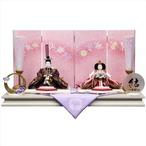 久月  雛人形 結シリーズ ビオラ 親王飾(クーポンをご利用ください。)