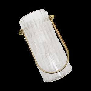 Gold handle flower vase / ゴールドハンドル フラワーベース S