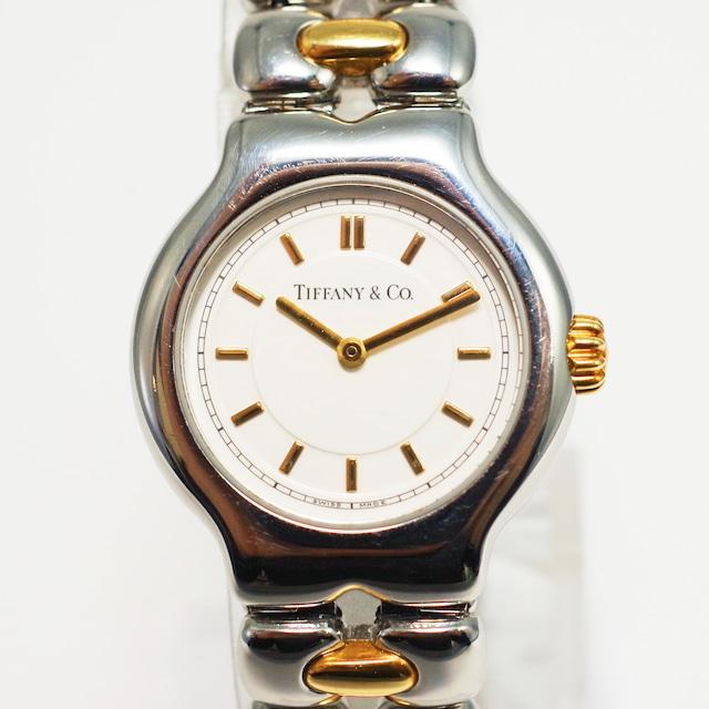 [お取り置き商品]TIFFANY & CO. ティファニー ティソロ クオーツ SS レディース 腕時計