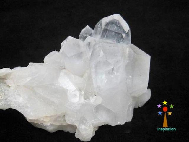 最高級ヒマラヤ水晶クラスター   K008