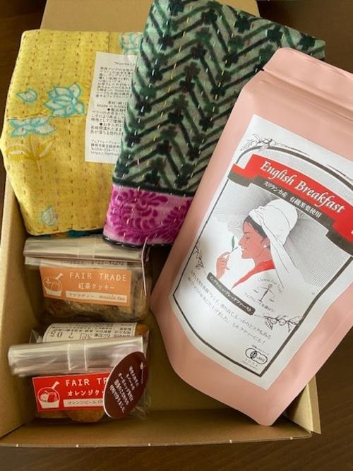 3800円セット 紅茶・クッキー・ランチマット【ギフト】