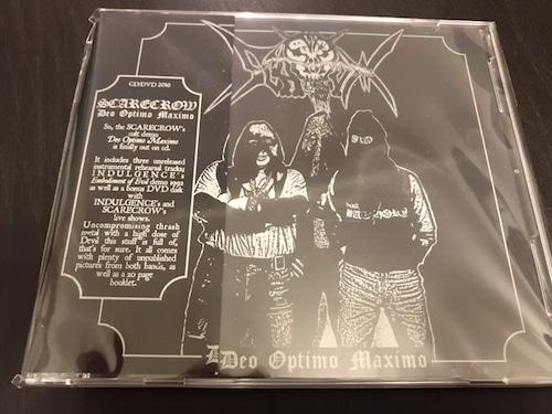 "SCARECROW ""Deo Optimo Maximo"" Split CD+DVD (輸入盤)"