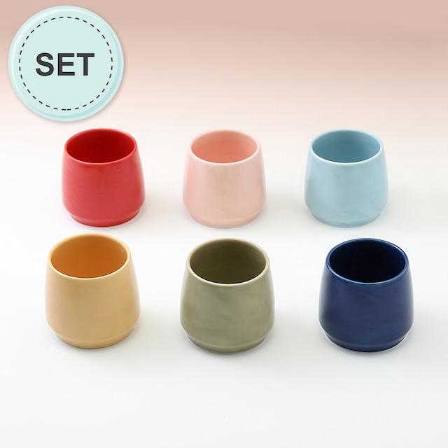 カラー マルチカップ(6色セット)