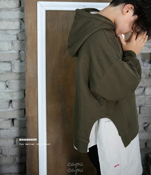 «sold out» dressmonster urban hoodie 2colors アーバンパーカー