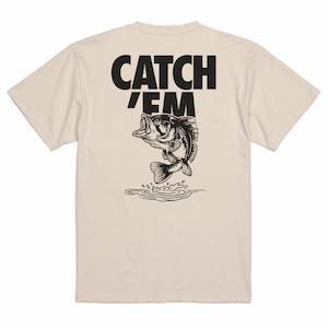 CATCH'EM TEE BASS /ベージュ