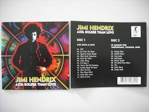 【2CD】JIMI HENDRIX / AXIS: BOLDER THAN LOVE