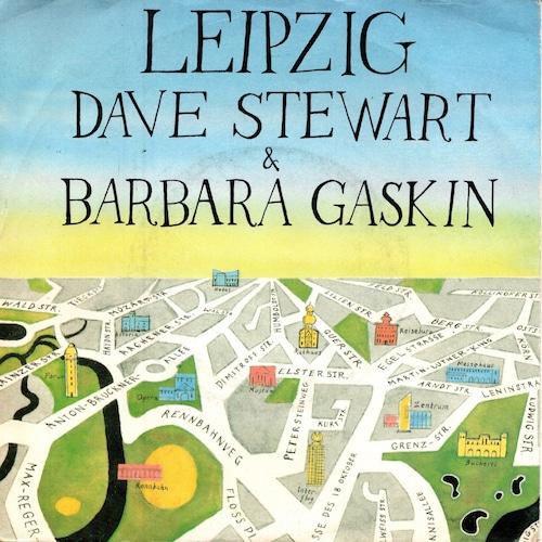 【7inch・独盤】Dave Stewart & Barbara Gaskin  / Leipzig