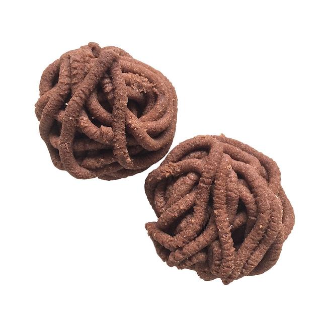 《見本》スウェーデンクッキー「モカの糸玉(Mockanystan)1パック」