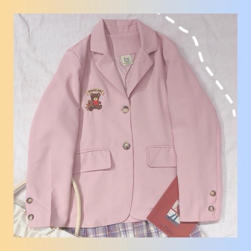 【お取り寄せ】テディベア ジャケット 2色