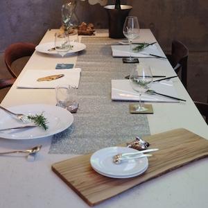 テーブルランナー Metaric Lace   Chilewich