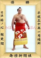 平成30(2018)年1月場所優勝 前頭 栃ノ心剛史関(初優勝)