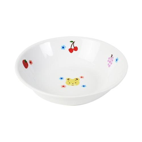 12.5cm 深小皿 強化磁器 フルーツべあ【1159-1280】