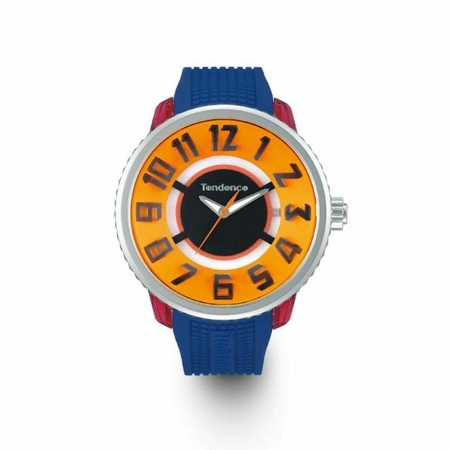 【Tendence テンデンス】TY532015 FLASH Streetフラッシュストリート(オレンジ)/国内正規品 腕時計