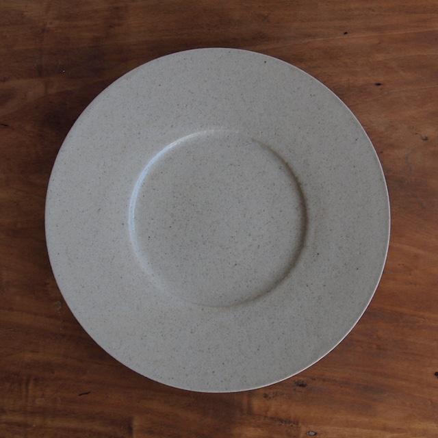 こいずみみゆき 8寸幅広リム皿 キセト