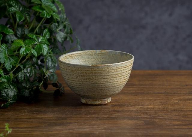 錆浅葱 ご飯茶碗(飯碗・茶碗)/吉永哲子