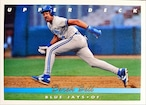 MLBカード 93UPPERDECK Derek Bell #158 BLUEJAYS