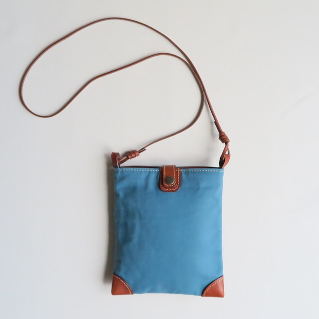 Paraffin canvas mini pochette BLUE