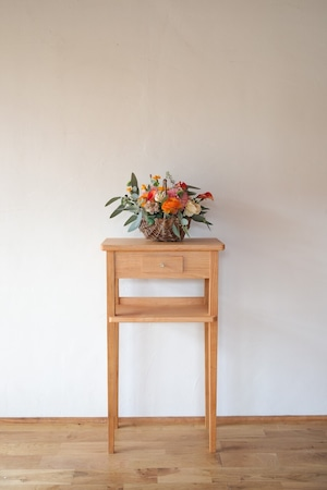 山桜コンソールテーブル