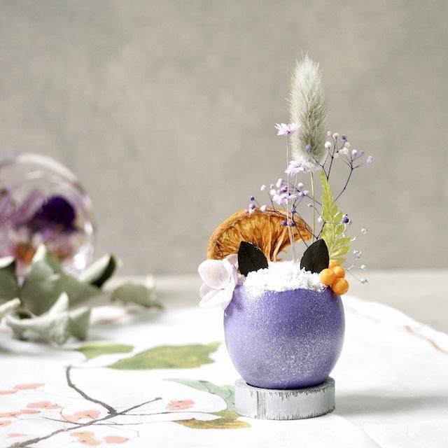 猫型盆栽「タマゴノコネコ」(秋色スイーツ)