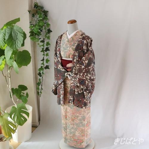 正絹 アンティークの羽織