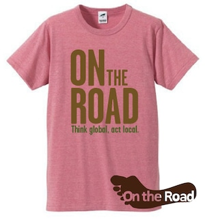On the Road Tシャツ《ピンク》