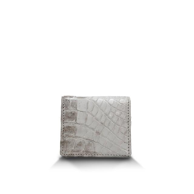 クロコダイル マット BOX型コインケース ヒマラヤ