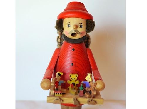 スモーカー パイプ人形   煙出し人形   おもちゃ売り  クーネルト ドイツ工芸品