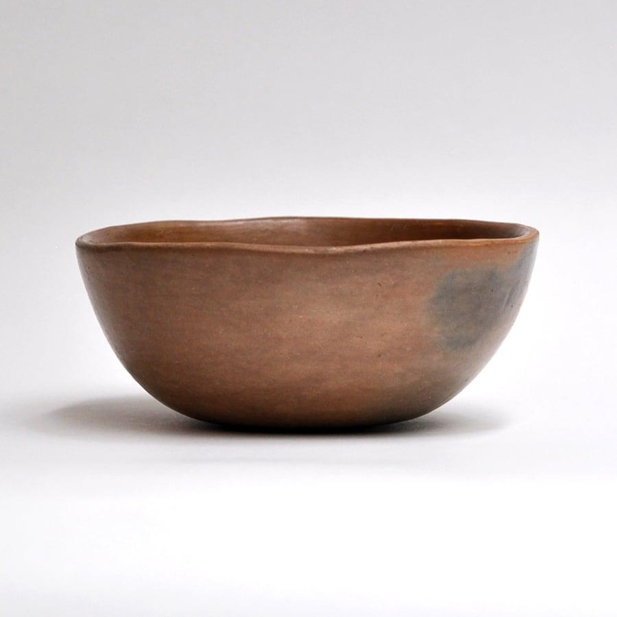 EREACHE エレアチェ 素焼き 茶 ボウル小 食器 メキシコ オアハカ No.4