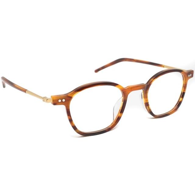 NEW.(ニュー) 眼鏡 (サングラス) 【WHITE C-2】【brown sasa gold】