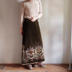 Velour Long Skirt / ベロア ロング スカート