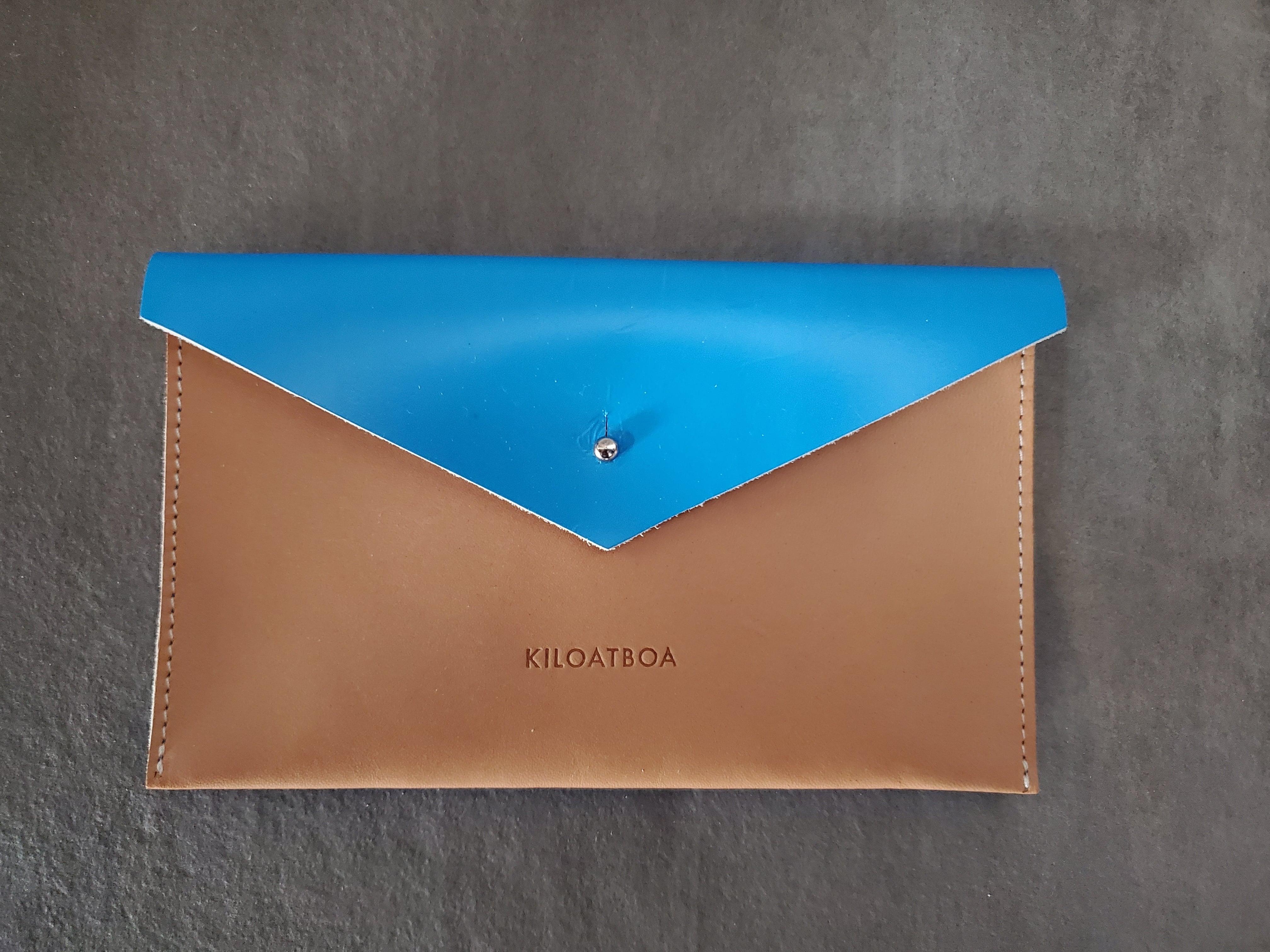 KILOATBOA レターポーチ(ブルー)